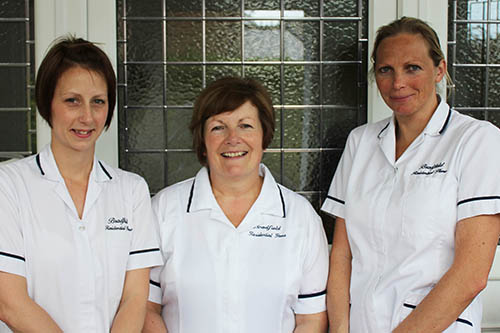 highly trained care home staff