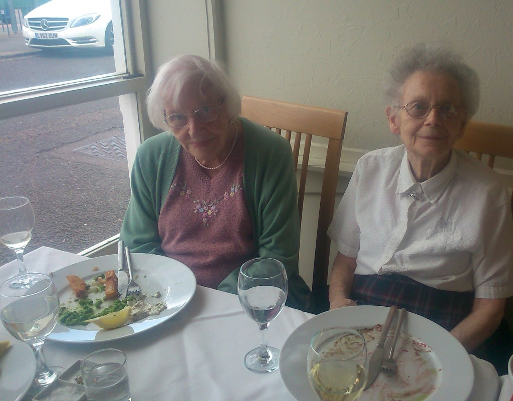 outings out at Bradfield Residential Home, Walmer, KENT.