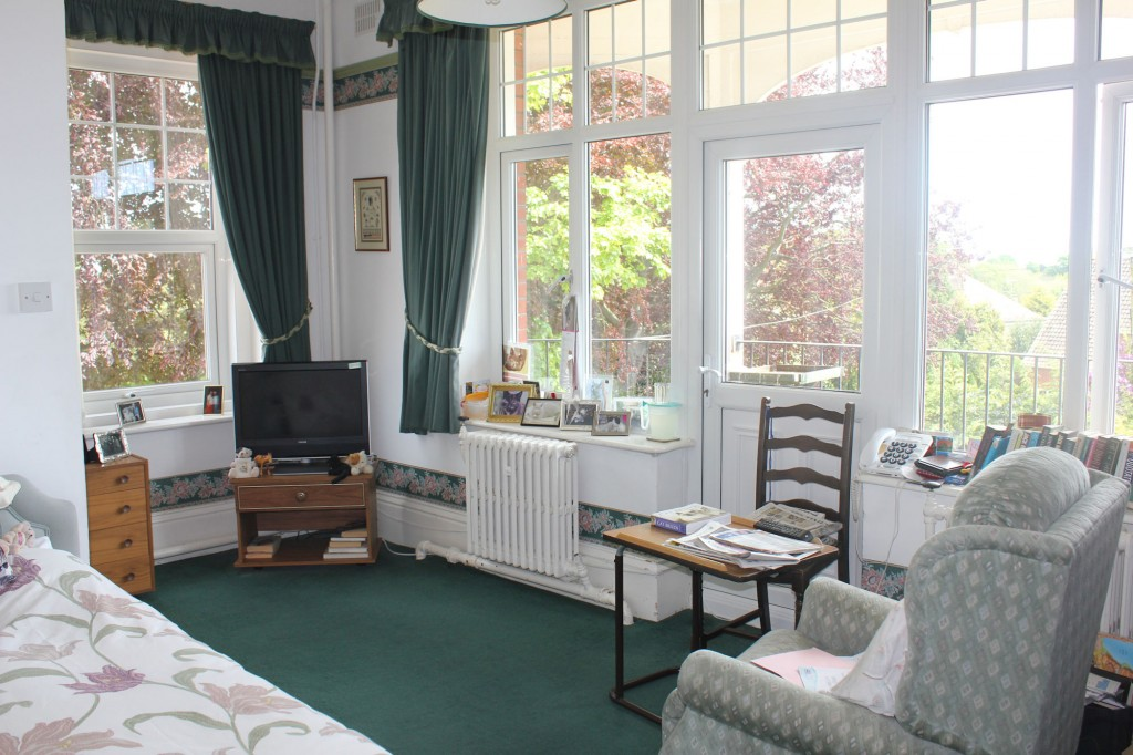 a variety of rooms here at Bradfield Residential Home.
