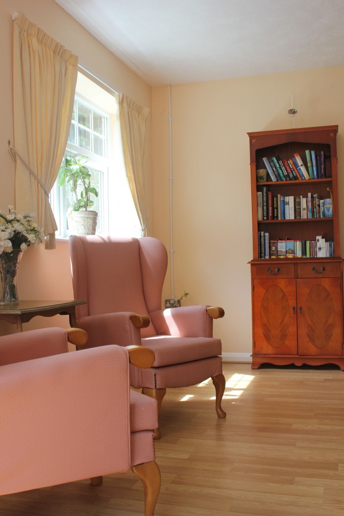 peace and quiet at Bradfield Residential Home