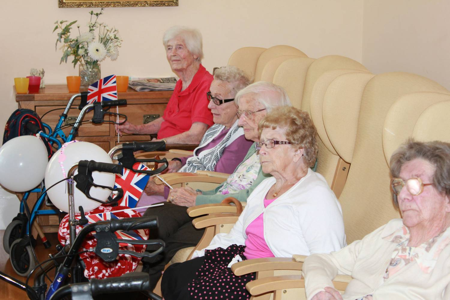 Remembrance Day at Bradfield Residential Home, Kent.