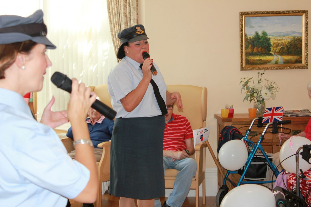 Rememberance Day at Bradfield Residential Home, Walmer KENT