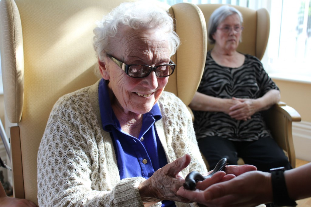 exciting experience for the residents at Bradfield Residential Home