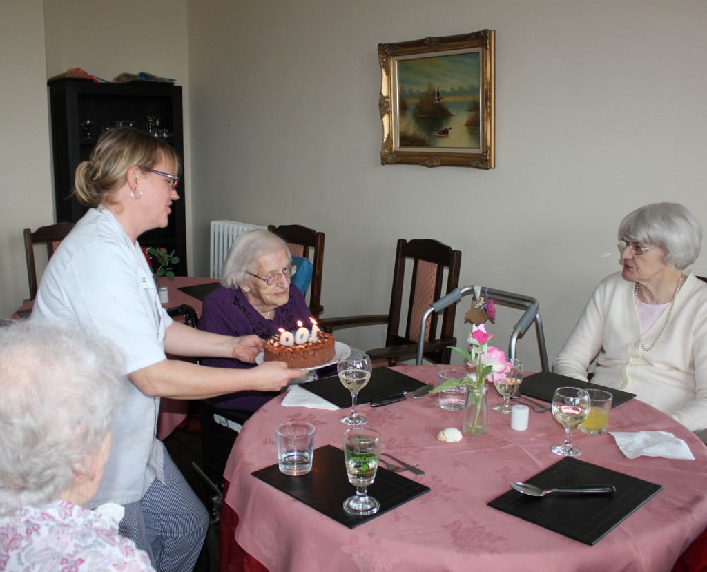 constant celebrations at Bradfield Care Home, Kent.